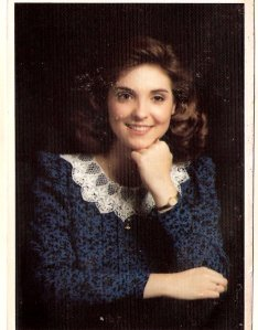 Amy in the Fall of 1987. I out-kicked my coverage!