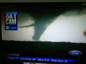 ABC 3340 Cullman Sky Cam Tornado 04.27.2011