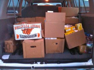 Tornado Relief Goods (April / May 2011)