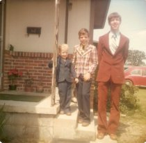 Circa 1977, I'm in the middle.  I miss that Sports Coat.