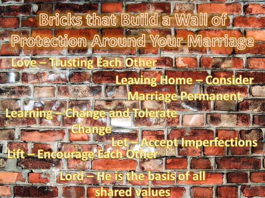 Marriage Wall