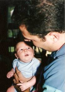 Me with Andrew 16 years ago!