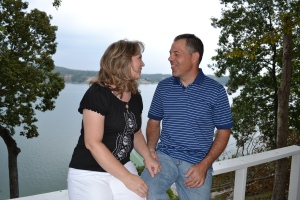 Amy and I on our 23rd Anniversary Get-a-Way