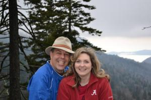 In the Great Smoky Mountains Dec. 2012.