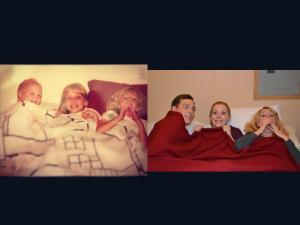 Cousins: Then and Now