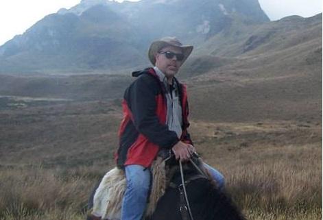 horseback in Ecuador