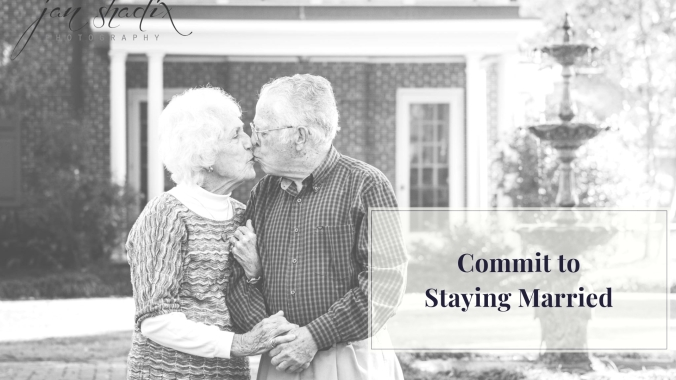 Commit toStaying Married